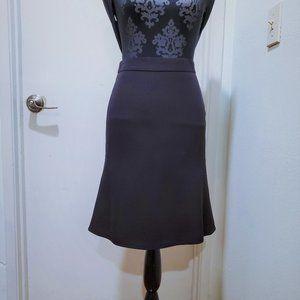 Armani Collezioni Black Flared Skirt